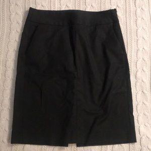 Banana Republic black pencil skirt size 2